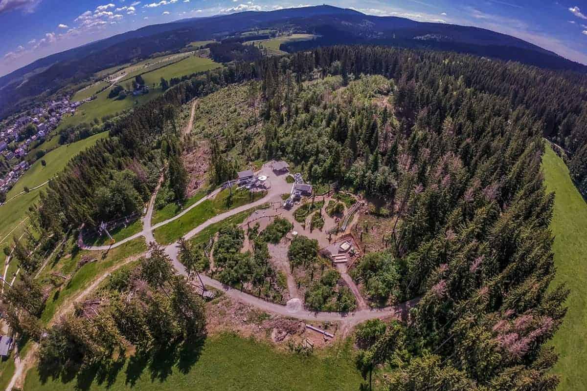 Drohne über dem Adlerfelsen ©WR