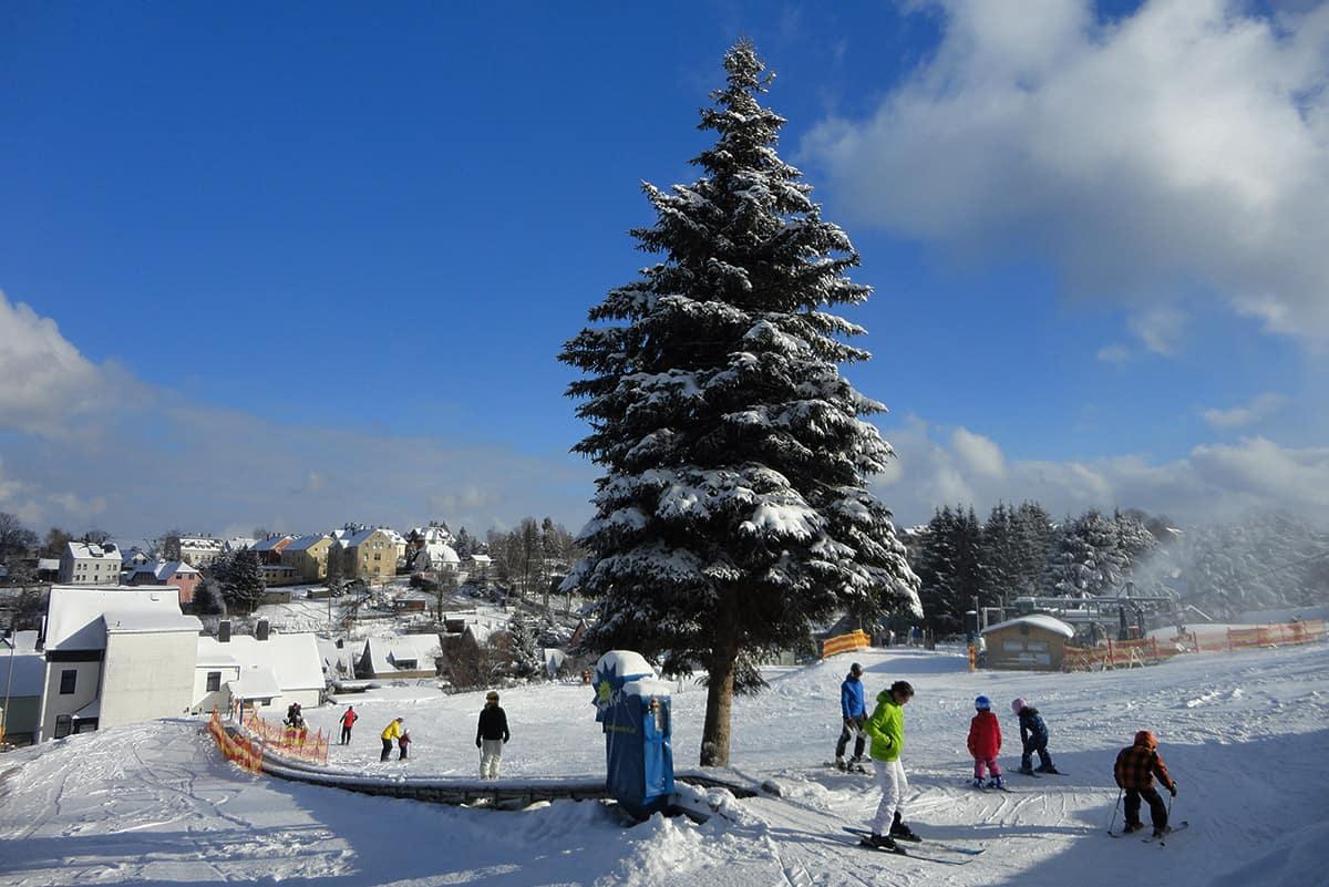 Skischulland in der SKiarena Eibenstock ©WR