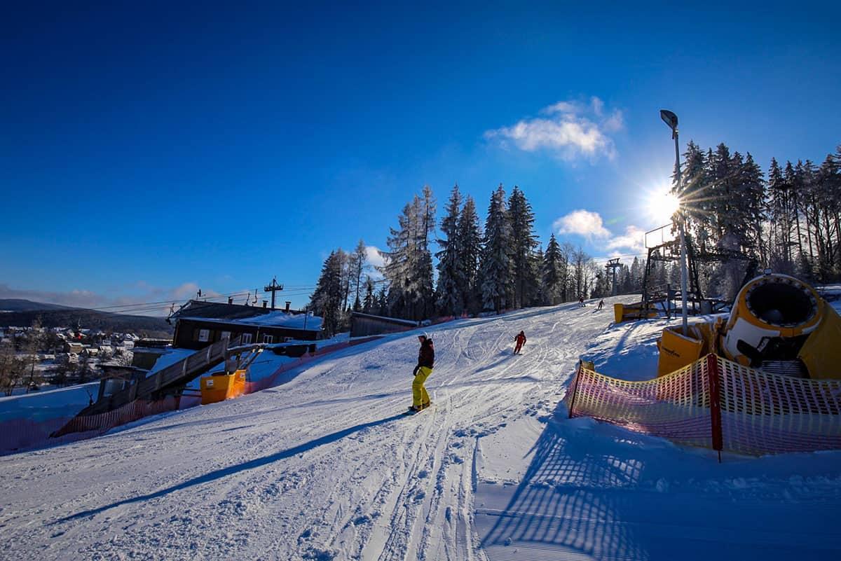 Skitag in der Skiarena Eibenstock ©WR