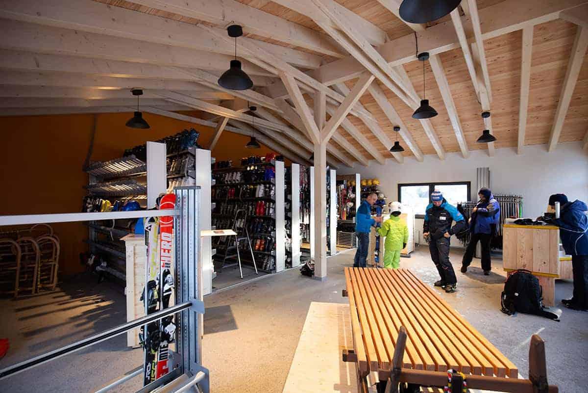 Lasershow bei der Innernachtsparty in der Skiarena Eibenstock ©WR