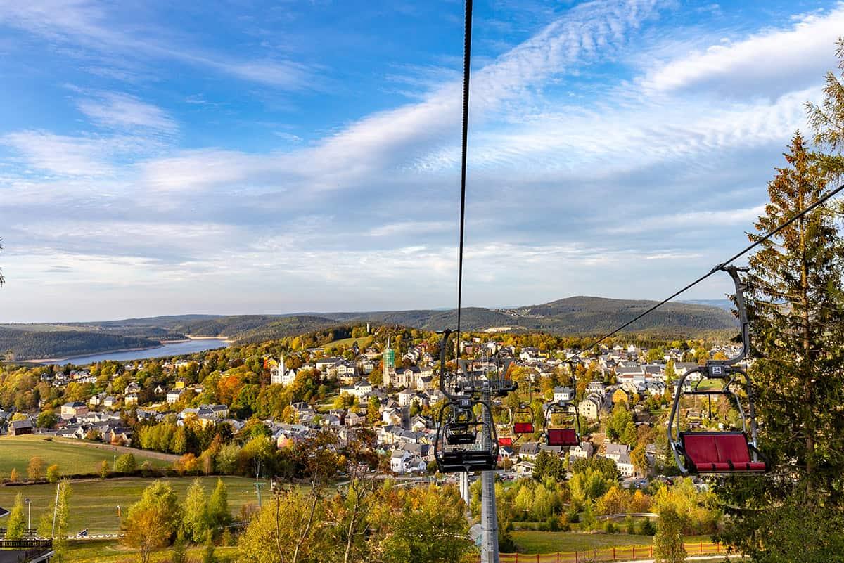Panorama Seilbahn Wurzelrudis Erlebniswelt ©WR